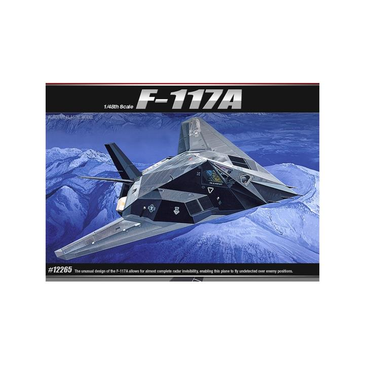 Academy 1/48 F-117A Stealth Attack-Bomber Kit ACA-12265