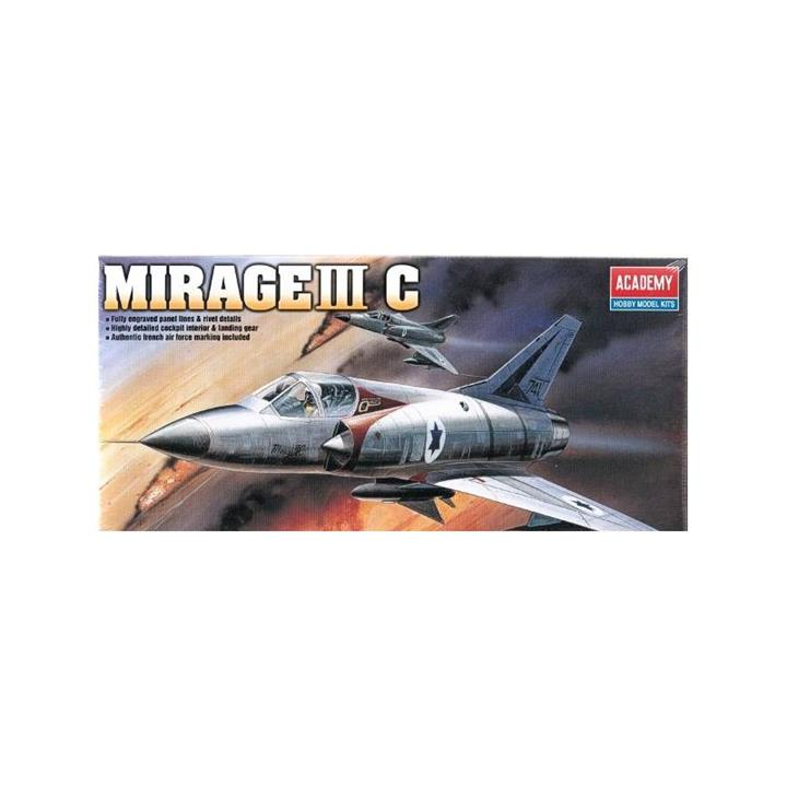 Academy 1/48 Mirage III C Kit ACA-12247