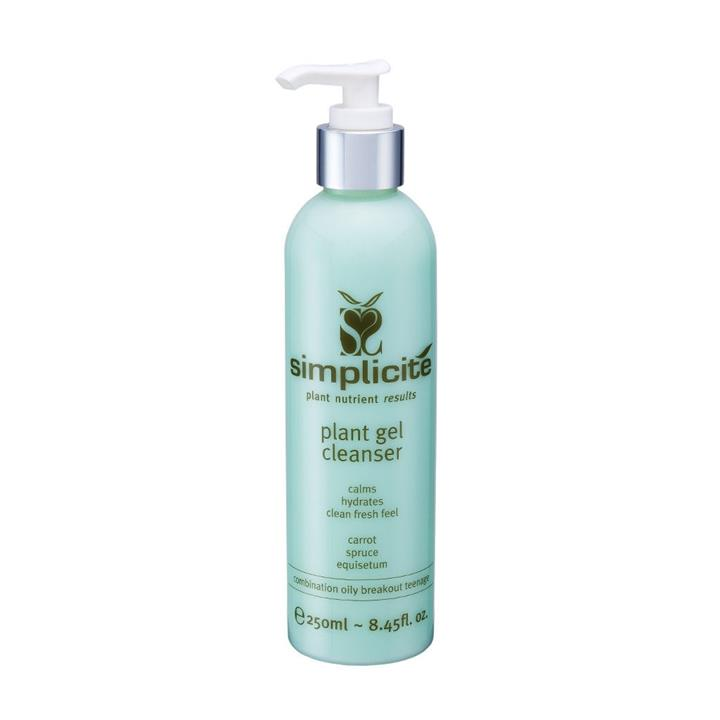 Simplicite Plant Gel Cleanser Comb/Oily 250ml