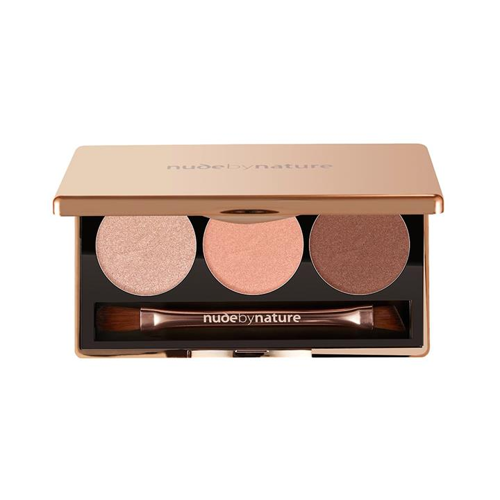 nude by nature Natural Illusion Eyeshadow Trio 3 x 2g