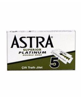 Astra Double-Edge Safety Razor Blades - 5 Pack