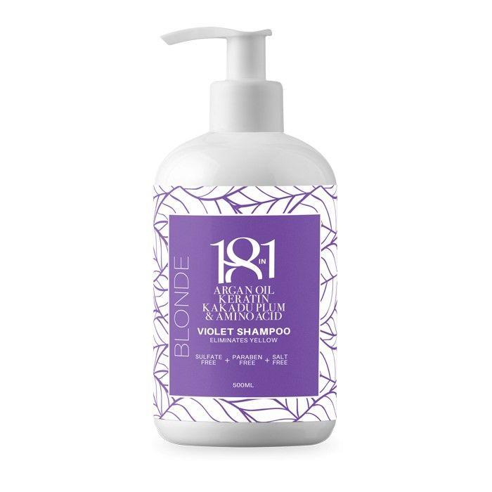 18in1 Blonde Violet Shampoo 500ml