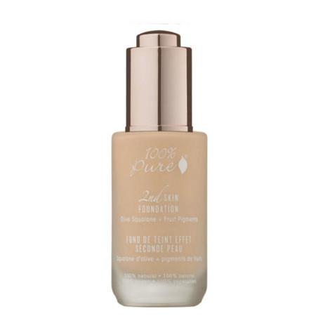 100% Pure 2nd Skin Foundation with Olive Squalane + Fruit Pigments: Creme - *4g Sample Pot* - Shipped free!