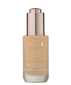 100% Pure 2nd Skin Foundation with Olive Squalane + Fruit Pigments: White Peach - *4g Sample Pot* - Shipped free!