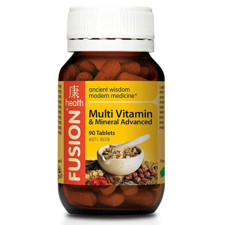 Fusion Health Multivitamin and Mineral Advanced - 90 Tablets