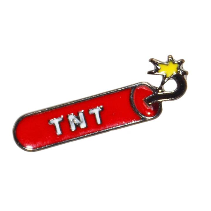 TNT Enamel Pin Cartoon Badge Retro Jacket Lapel Kitsch Kids Aussie Seller