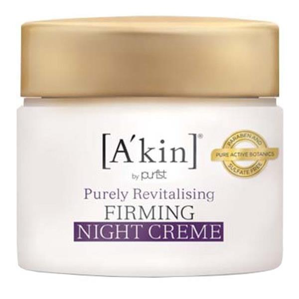 A'kin Purely Revitalising Firming Night Creme 50ml