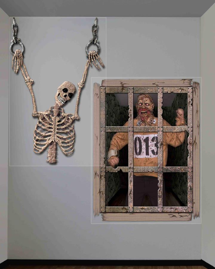 Gruesome Wall Decorations Pack of 2