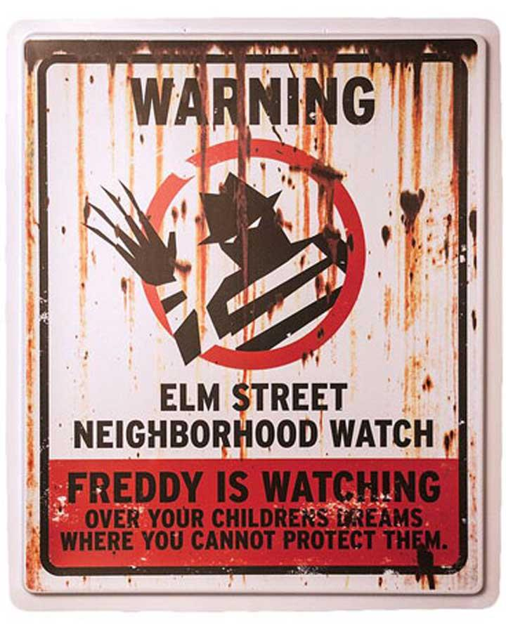 Elm Street Neighbourhood Watch Sign