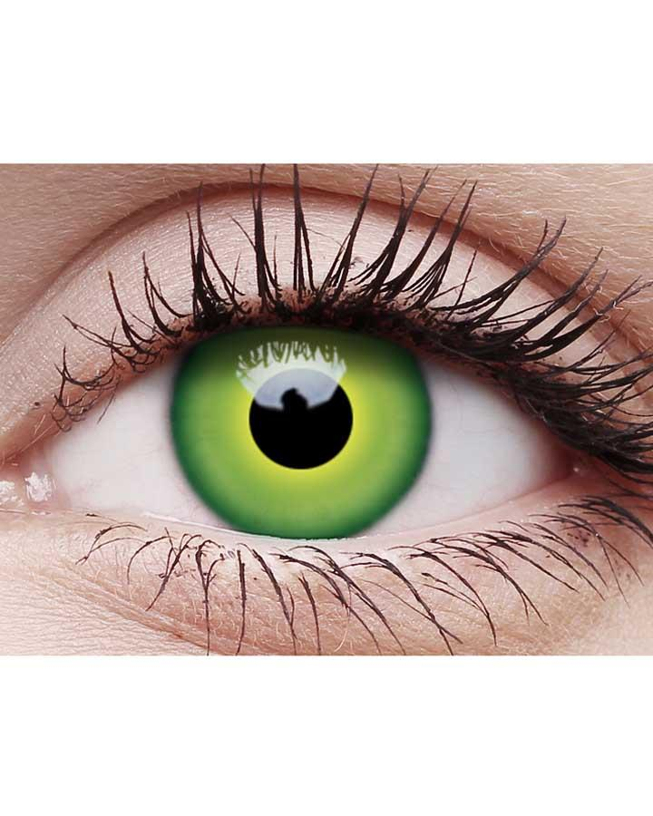 Hulk Green Contact Lenses with Case
