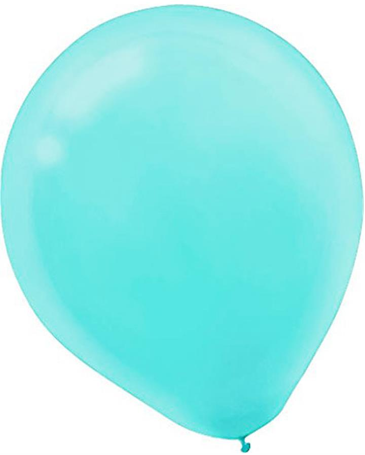 Robins Egg Latex Balloons Pack of 15