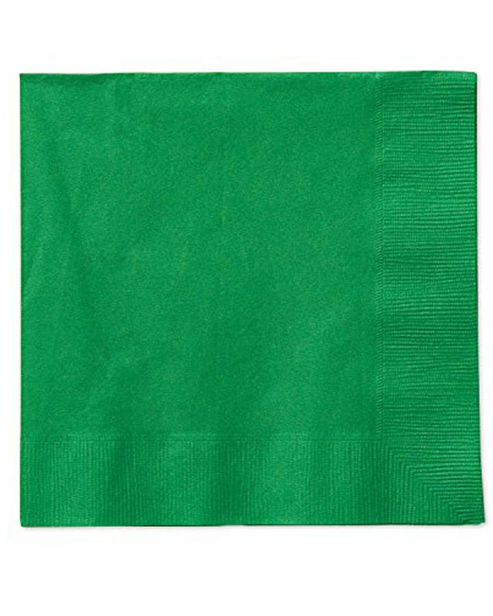 Festive Green Lunch Napkins Pack of 20