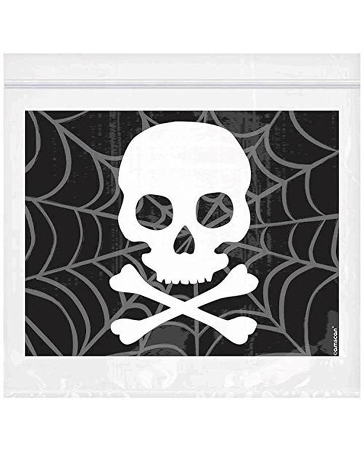Spider Web Resealable Treat Bags Pack of 30