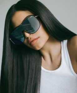 #Quayxkylie Unbothered Sunglasses Black/Mint