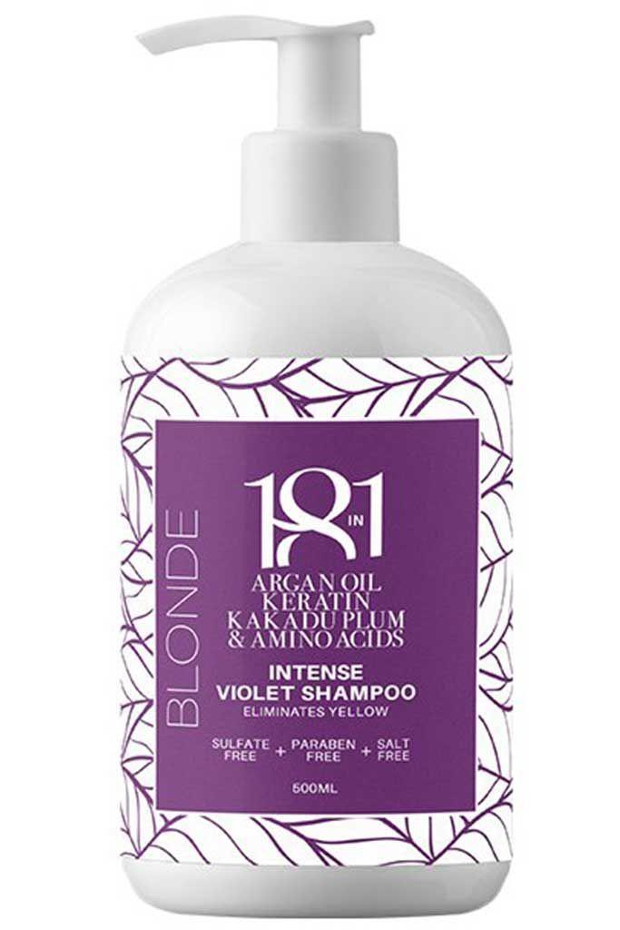 18IN1 Blonde Intense Violet Shampoo 500ML
