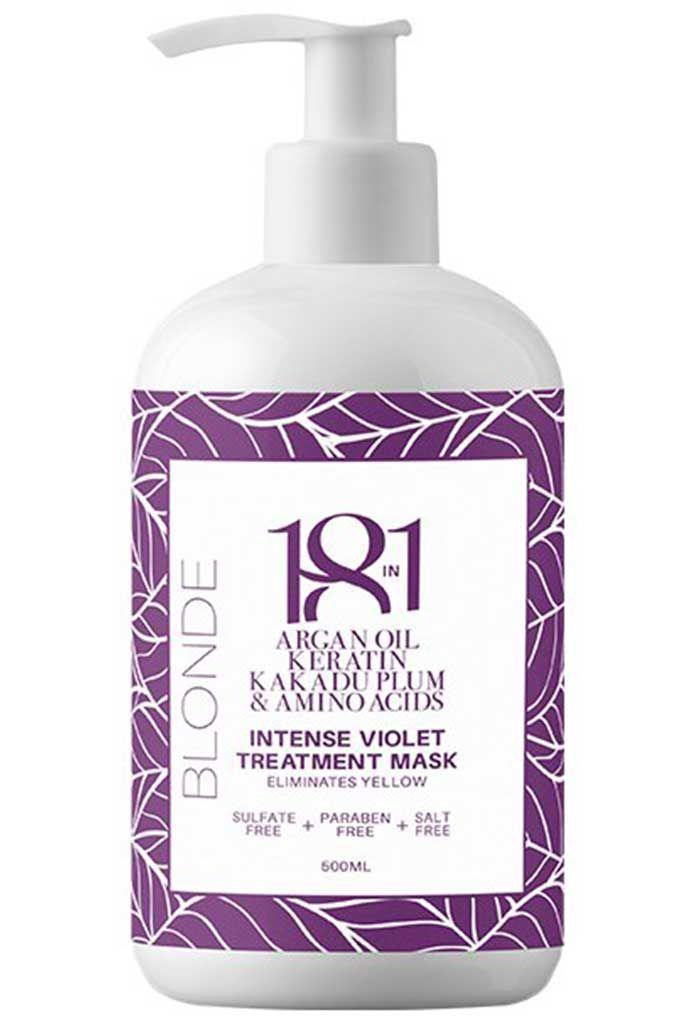 18IN1 Blonde Intense Violet Treatment Mask