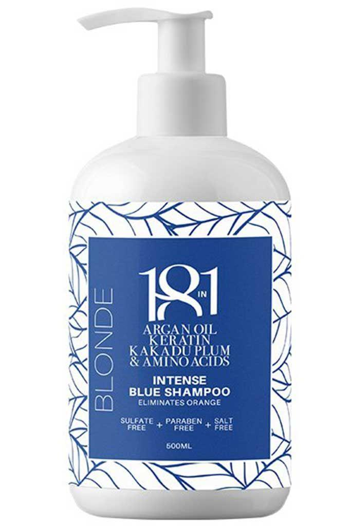 18IN1 Blonde Intense Blue Shampoo 500ML