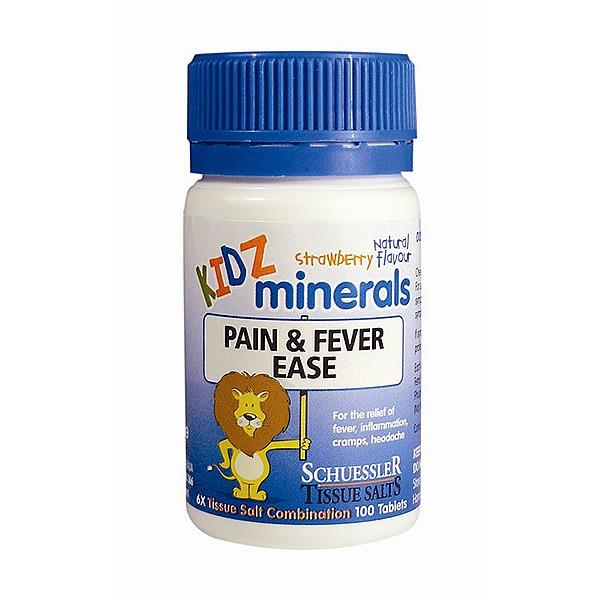 Martin & Pleasance Kidz Minerals - Pain & Fever Ease 100 tablets