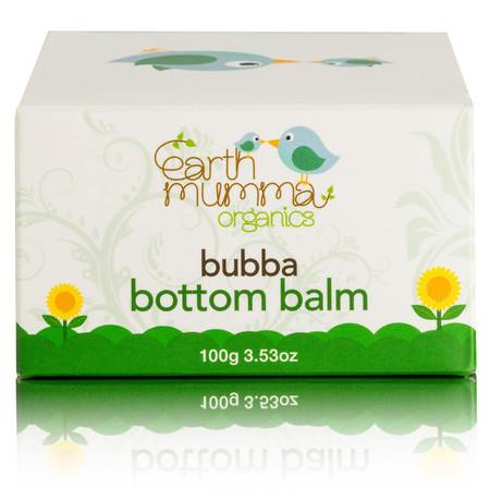 Earth Mumma Organic Bubba Bottom Balm - 100g