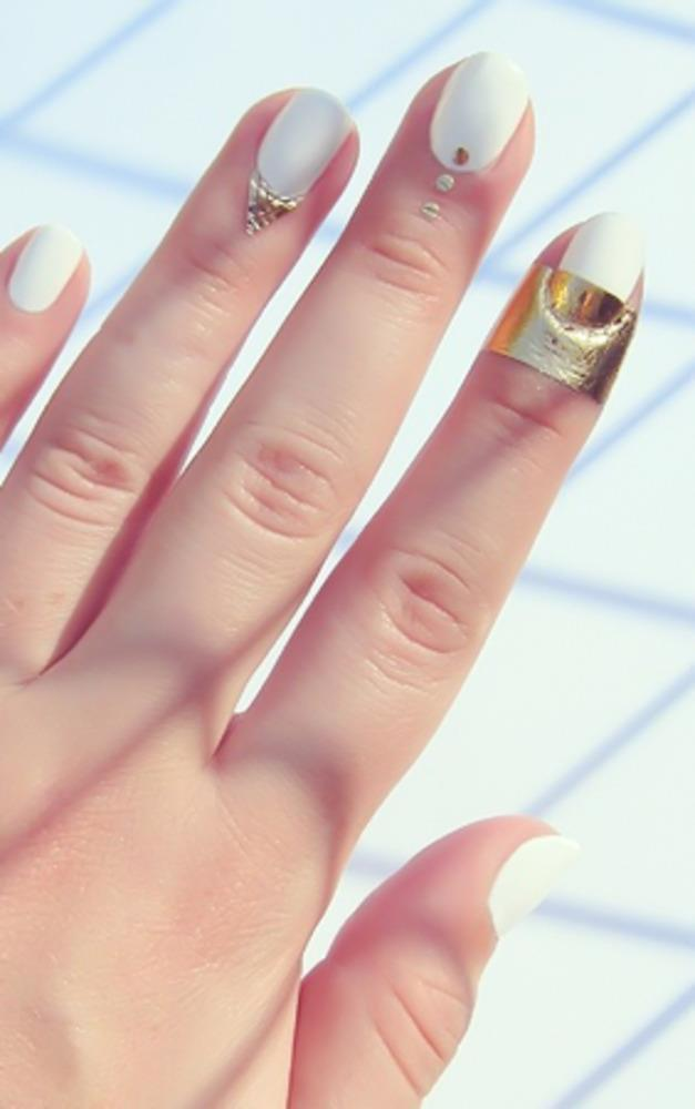 Showpo Rad Nails - With The Band in Gold