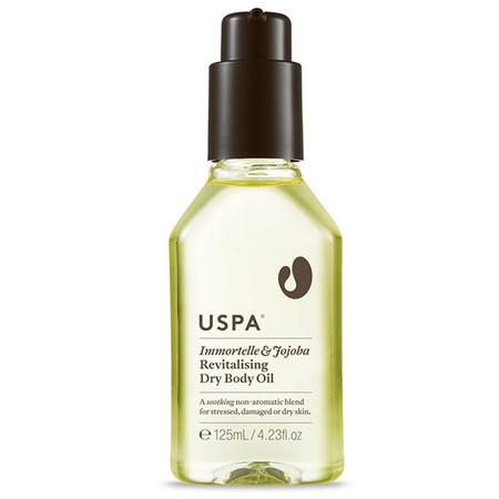 Uspa Revitalising Dry Body Oil - Immortelle & Jojoba - 125ml