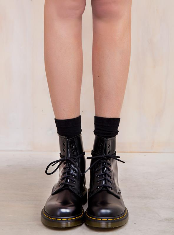 Women's 1460 Smooth Boots Black