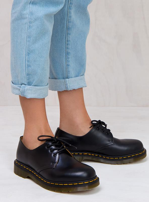 Women's 1461 Smooth Shoes Black