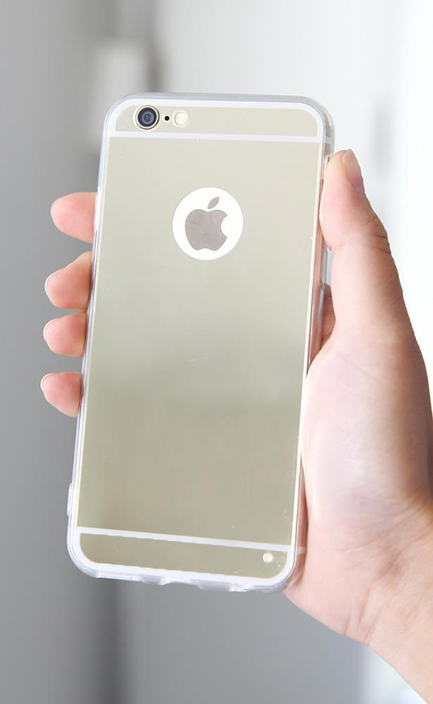 Showpo Vanity iphone 6 Plus cover in gold mirror Technology