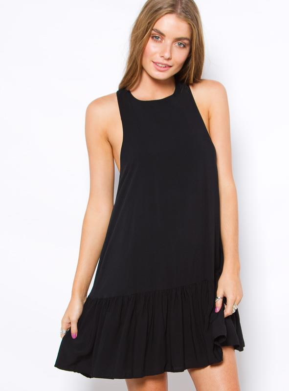 Women's Barcelona Mini Dress Black