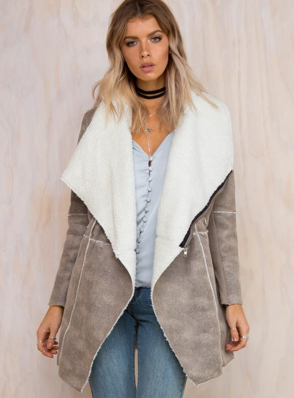 Women's Barren Land Coat Grey