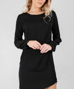 Showpo About Time dress in black