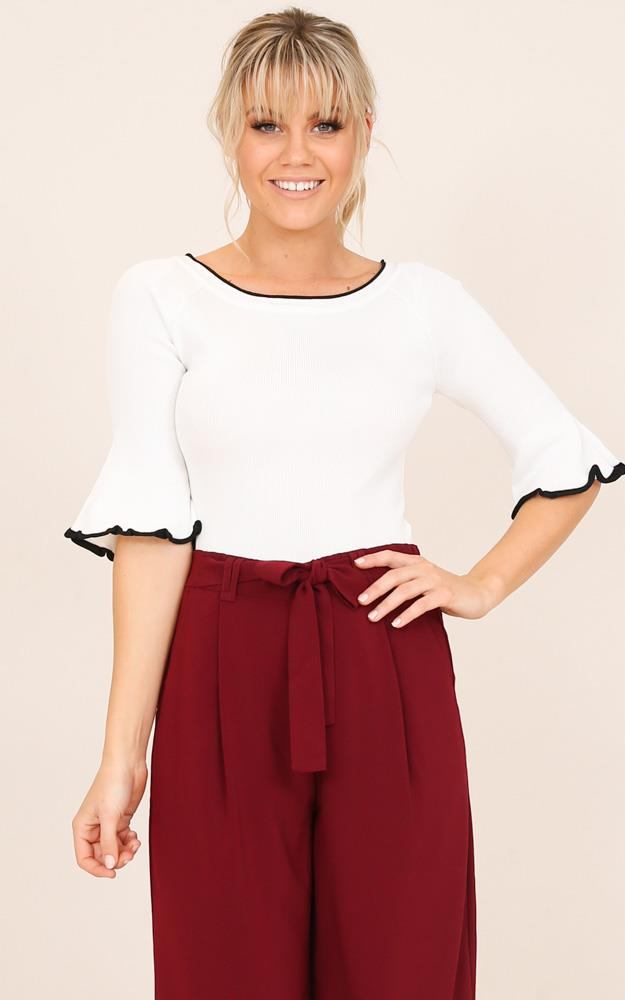 Showpo Manage This top in white