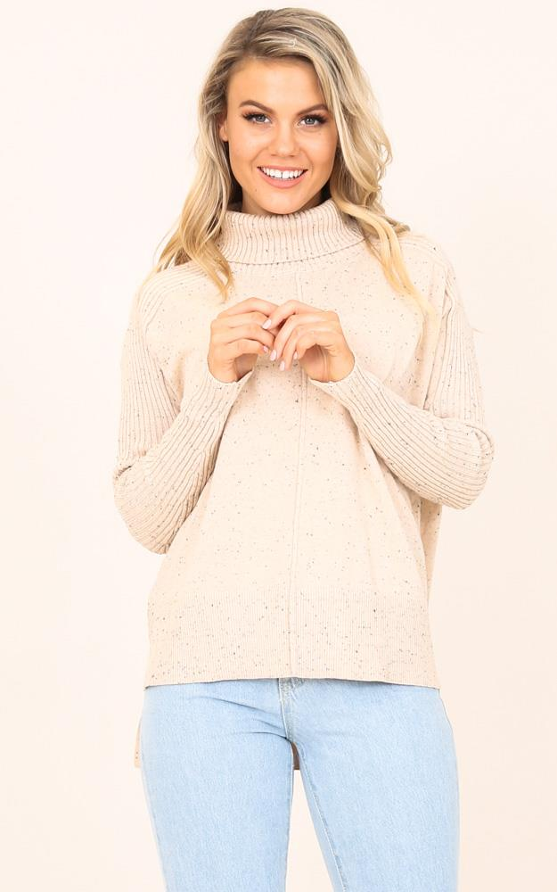 Showpo Yours Forever knit in beige