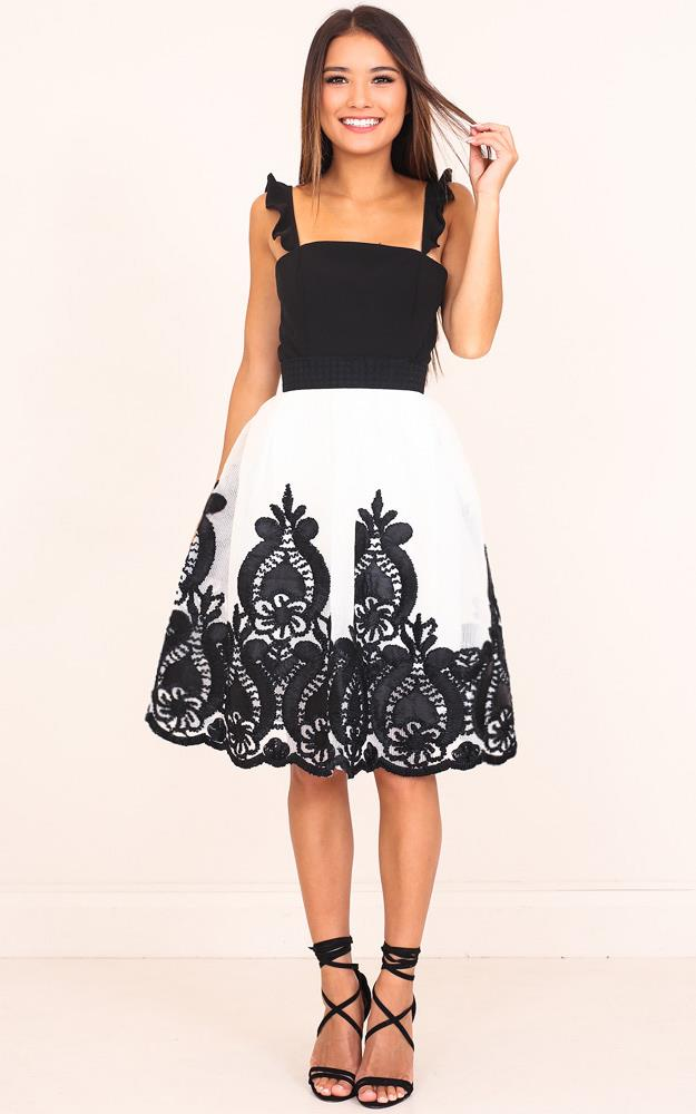 Showpo A Great Romance skirt in white