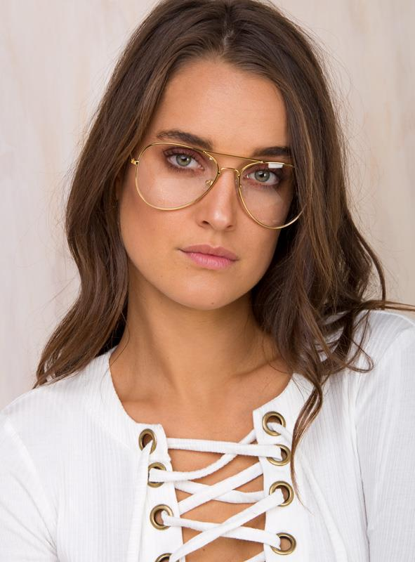 Women's The Gold McCarthy Glasses Gold