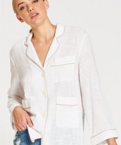 Bon Nuit Shirt in White
