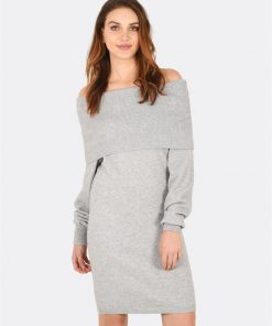 Alexia Off-Shoulder Sweater Dress