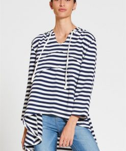 Circle Hoody in Stripe