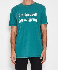 Apocalypse Relaxed Fit T-Shirt Teal