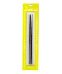 U-konserve Stainless Steel Drinking Straws 2 pieces