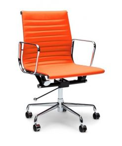 Management Boardroom Chair - Eames Replica - Orange