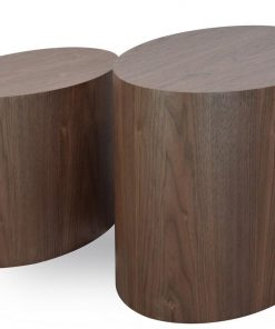 Albin Scandinavian Wooden Side Tables