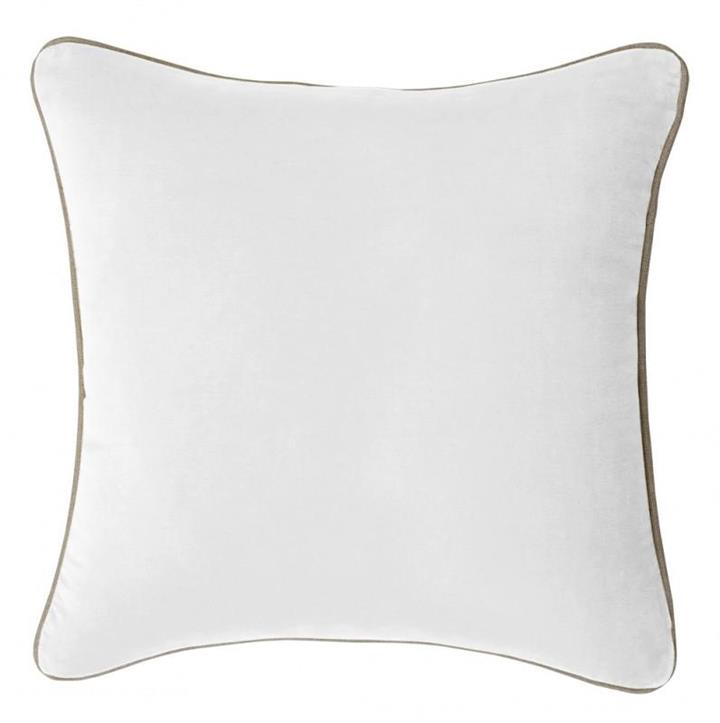 Gabriel Reversible Cushion Cover | White| Various Sizes