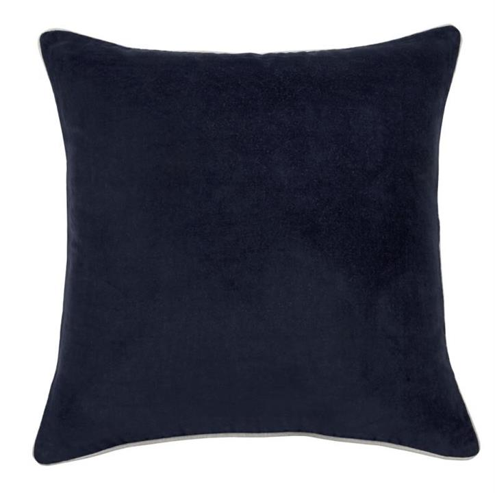 Gabriel Reversible Cushion Cover | Navy | Various Sizes