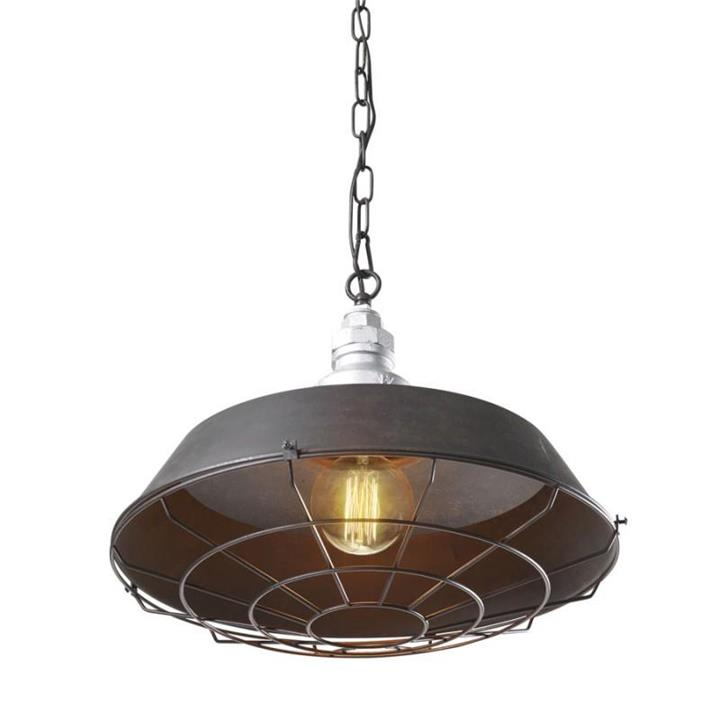 Warehouse Industrial Pendant with Cage