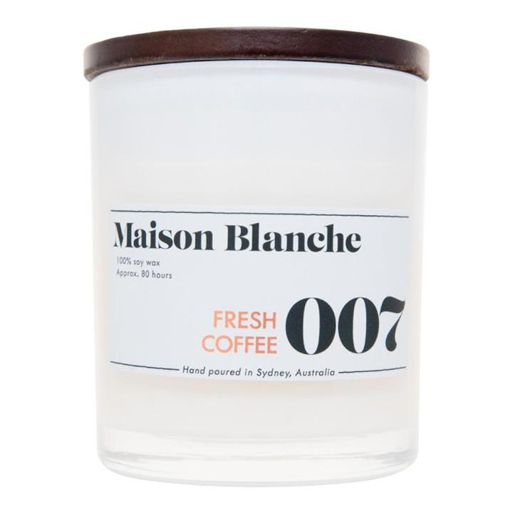 007 Fresh Coffee | 80 Hour Soy Candle