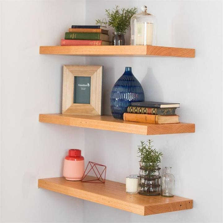 Recycled Timber Floating Shelf