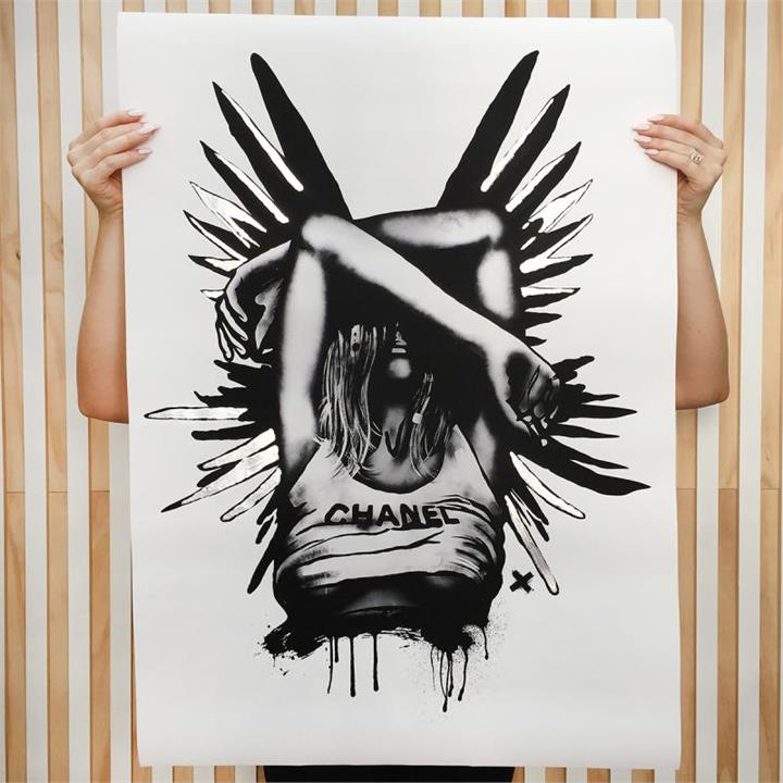Limited Edition Art Print | Silver Wings