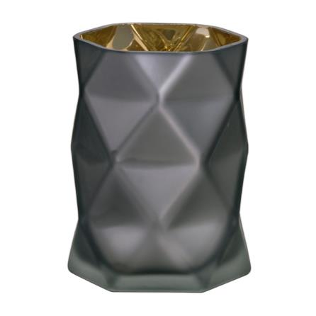 Facet Candle Holder | White or Grey