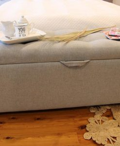 Upholstered Blanket Box